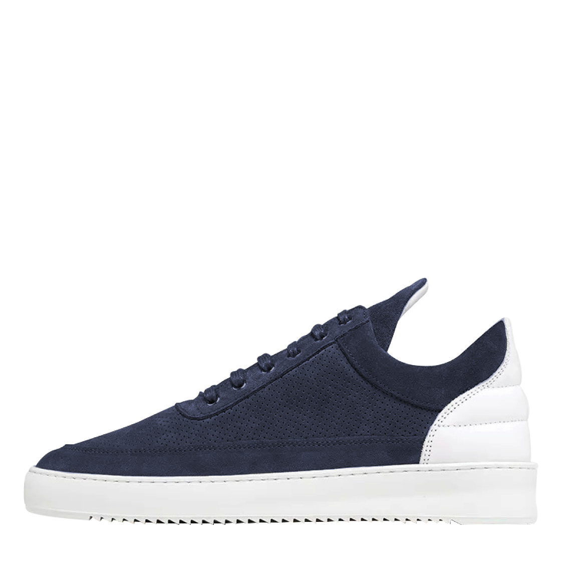 Filling_Pieces_Low_Top_Ripple_Perforated_Navy_The_Project_Garments_A